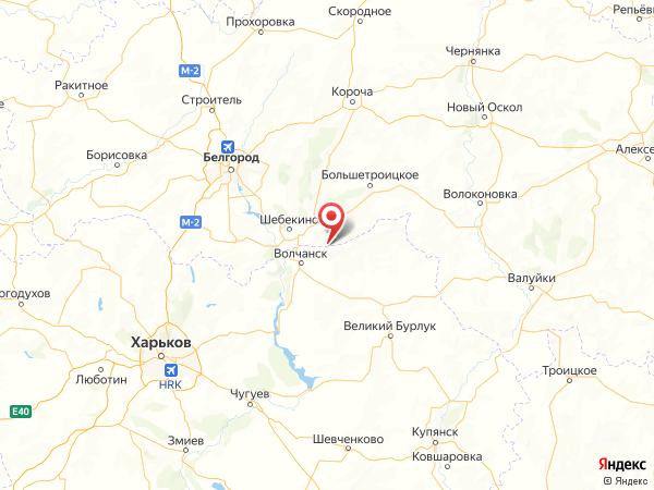 хутор Марьино на карте
