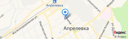 Детская школа искусств №13 на карте Апрелевки