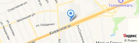 АВТО-ЛЮКС на карте Апрелевки
