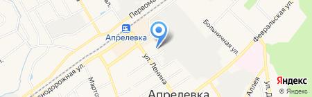 ЭУР-МЕД Денталдепо на карте Апрелевки