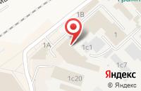 Схема проезда до компании Потенциал СК в Апрелевке