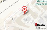 Схема проезда до компании Union Polis в Апрелевке