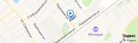 Золотая нить на карте Апрелевки