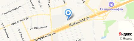 ЦНИИЭП на карте Апрелевки
