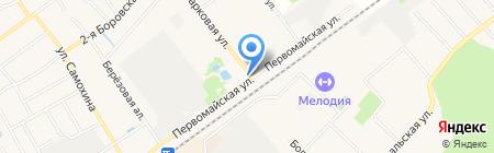 Кранъ-Штадъ на карте Апрелевки
