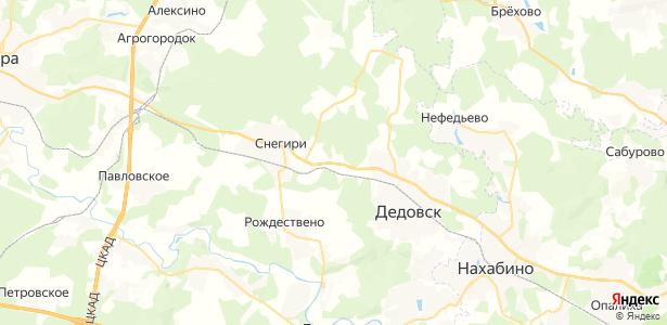 Садки на карте