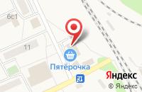 Схема проезда до компании Пятерочка в Поварово