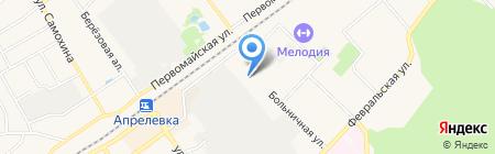 Пожарная часть №109 на карте Апрелевки