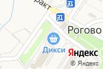 Схема проезда до компании Бахрушинъ в Рогово