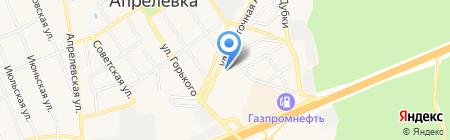 Магазин товаров для рыбалки и туризма на карте Апрелевки