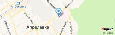 Домовой на карте Апрелевки