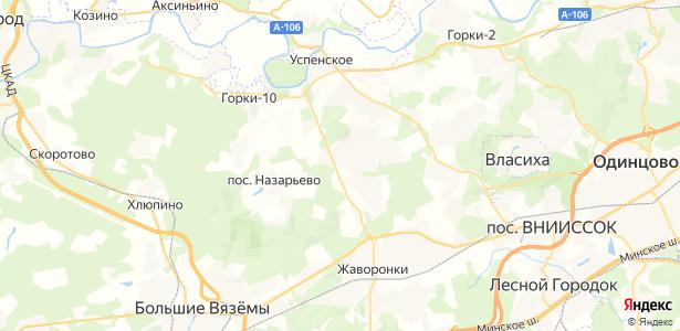 Таганьково на карте