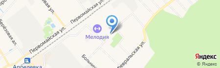 Дворец культуры и спорта на карте Апрелевки