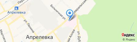Апрелевская районная больница №6 на карте Апрелевки