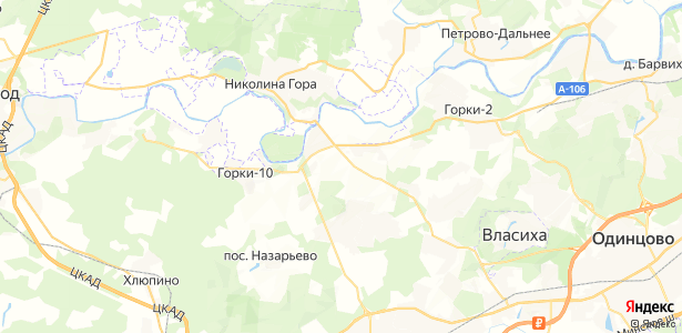 "дома отдыха ""Успенское"" на карте"