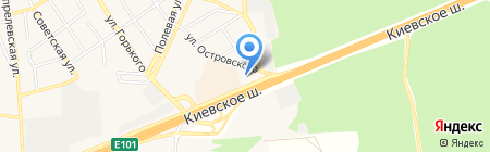 АЗС Газпромнефть на карте Апрелевки