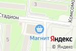 Схема проезда до компании Магазин фастфудной продукции в Павловской Слободе