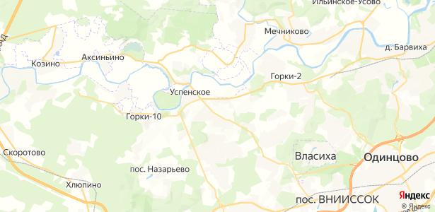 Борки на карте