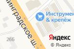 Схема проезда до компании Краски.ru в Есипово