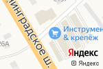 Схема проезда до компании Дом Маляра в Есипово