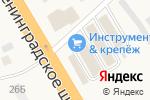 Схема проезда до компании Инструмент и крепеж в Есипово