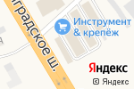 Схема проезда до компании Сантехплаза в Есипово