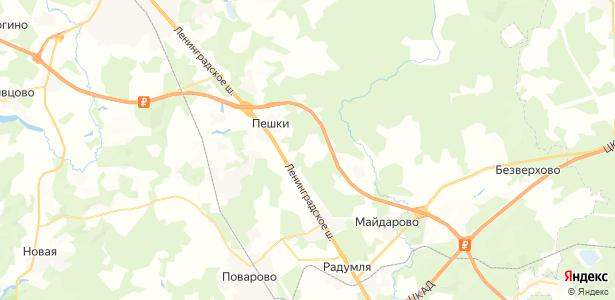 Терехово на карте