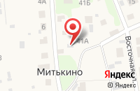 Схема проезда до компании Медведевское районное потребительское общество, ПК в Митькино