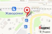 Схема проезда до компании Магазин автозапчастей в Жаворонках