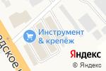 Схема проезда до компании Мир Красок в Есипово