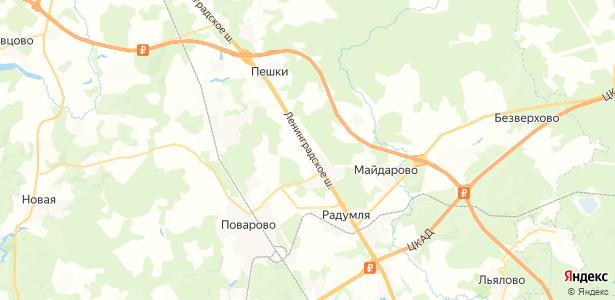 Есипово на карте