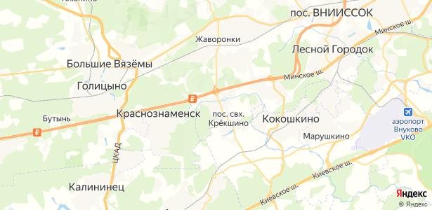 Митькино на карте