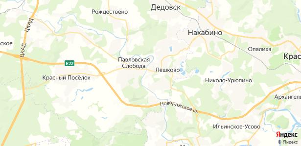 Лешково на карте