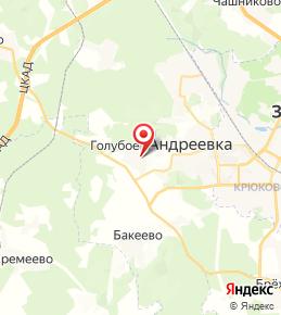 ЖК «Первый Зеленоградский» в Солнечногорске на карте