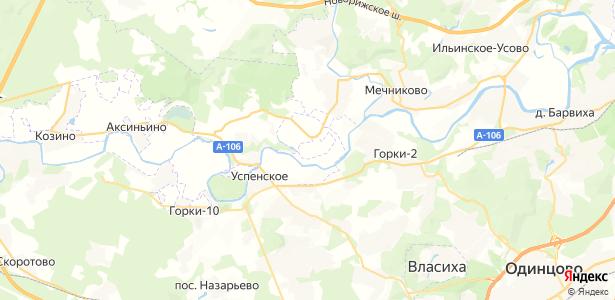 Уборы на карте
