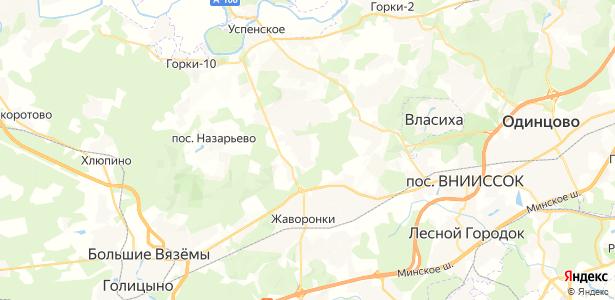 Семенково на карте