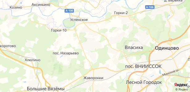 Дарьино на карте