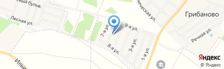 Европа. Английский квартал на карте Грибаново