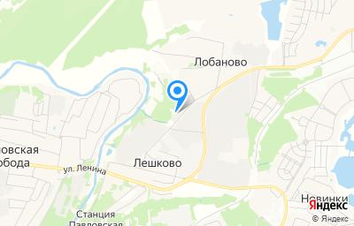 Местоположение на карте пункта техосмотра по адресу Московская обл, г Истра, д Лобаново, д 230