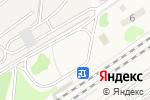 Схема проезда до компании Продуктовый магазин в станциях Крекшино