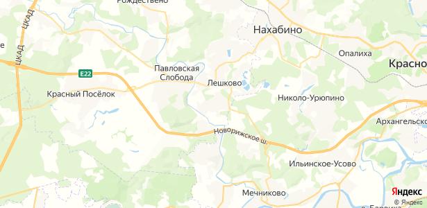 Веледниково на карте