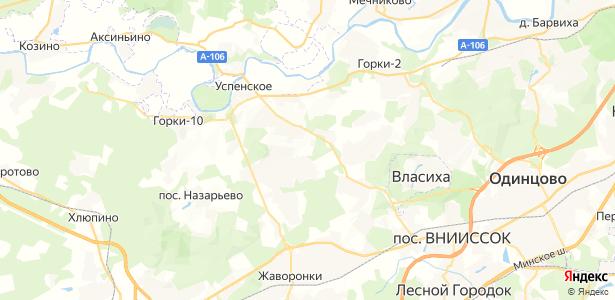 Новодарьино на карте