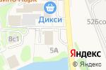 Схема проезда до компании Платежный терминал, Московский кредитный банк, ПАО в Крекшино