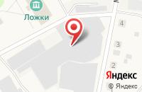 Схема проезда до компании ФКПЧФ Бобимэкс ТМ в Ложках