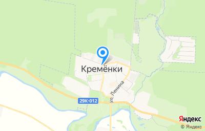 Местоположение на карте пункта техосмотра по адресу Калужская обл, Жуковский р-н, г Кременки, ул Лесная, д 11