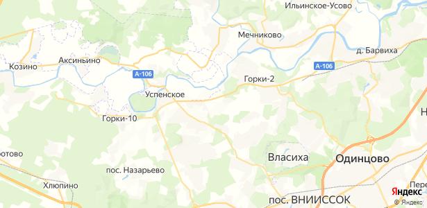 Бузаево на карте