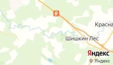 Гостиницы города Лужки (Поселение Михайлово-Ярцевское) на карте