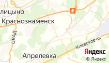 Гостиницы города Крекшино на карте