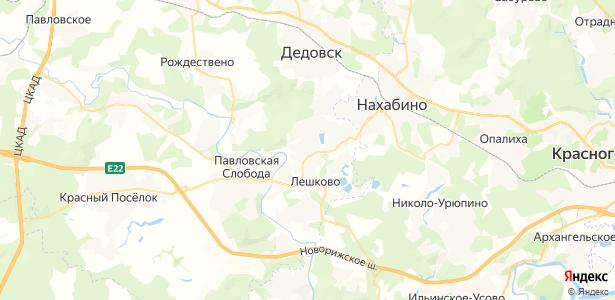 Лобаново на карте