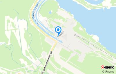 Местоположение на карте пункта техосмотра по адресу Вологодская обл, Кадуйский р-н, рп Кадуй, ул Промышленная, д 2